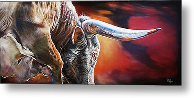 The Boss Metal Print by Rick Unger