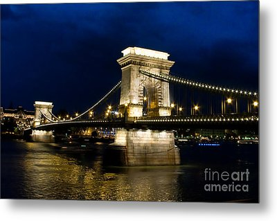 The Bridge Across Metal Print by Syed Aqueel
