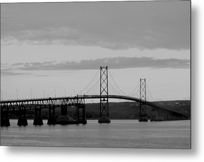 The Bridge Metal Print by Sophie  Bouchard