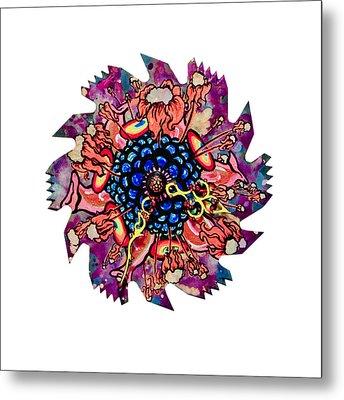The Bug-blossom Metal Print by Jessica Sornson