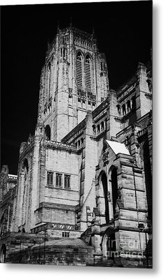 the Cathedral Church of Christ Liverpool Anglican Cathedral Merseyside England UK Metal Print by Joe Fox