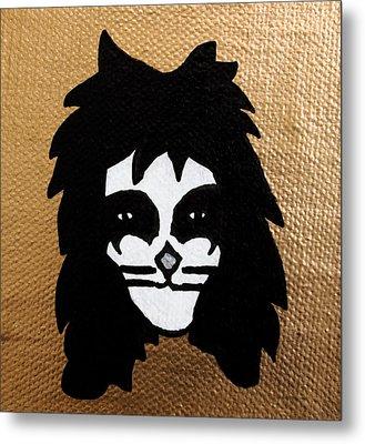The Catman Metal Print by Jera Sky