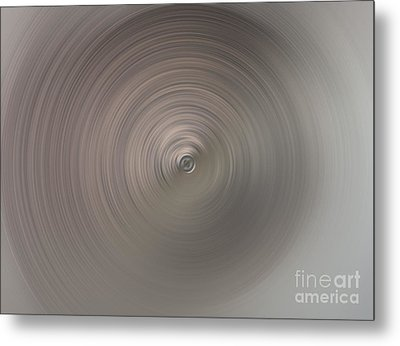 The Center Of Tornado Metal Print by Ausra Huntington nee Paulauskaite