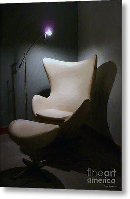 The Chair Metal Print by Jerry L Barrett