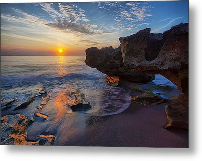 The Cliffs Of Florida Metal Print by Claudia Domenig