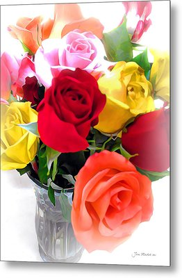 The Color Of A Rose Metal Print by Joan  Minchak