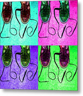 The Color Of Love Metal Print by Paul Ward