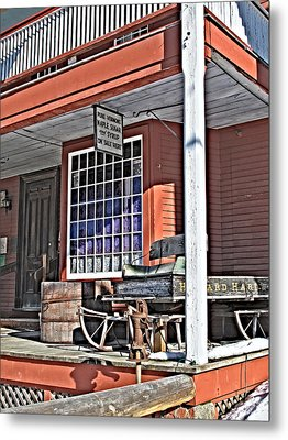 The Country Store Metal Print by Linda Pulvermacher
