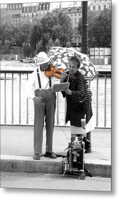 The Couple Metal Print by Kelly Jones