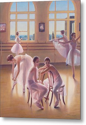 The Dance Class Metal Print by Patrick Anthony Pierson
