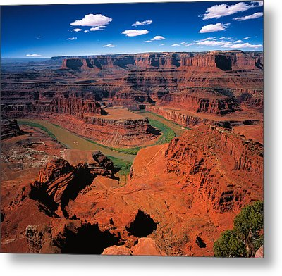 The Dead Horse Point State Park Metal Print by Daniel Chui