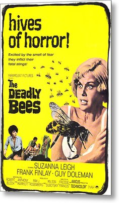 The Deadly Bees, From Left Katy Wild Metal Print by Everett
