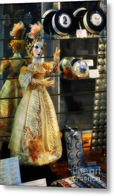 The Doll Salzburg Metal Print by Mary Machare