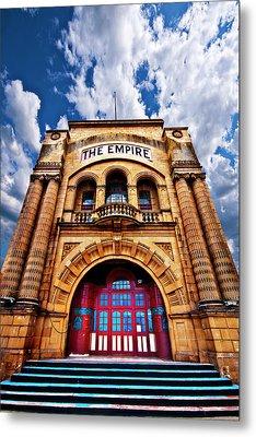 The Empire Theatre Metal Print by Meirion Matthias