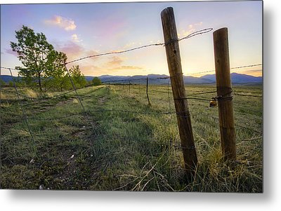 The End Of The Line Metal Print by Tyler Porter