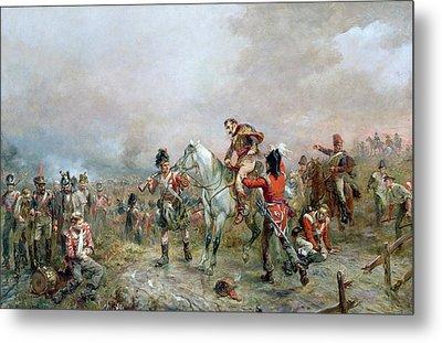 The Field At Waterloo Metal Print by Robert Alexander Hillingford