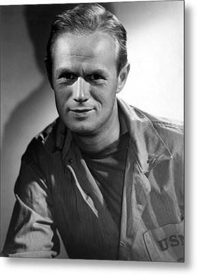The Frogmen, Richard Widmark, 1951 Metal Print by Everett