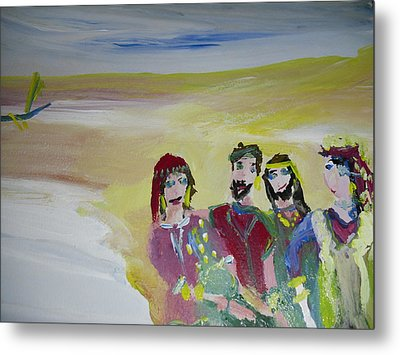 The Gang Metal Print by Judith Desrosiers