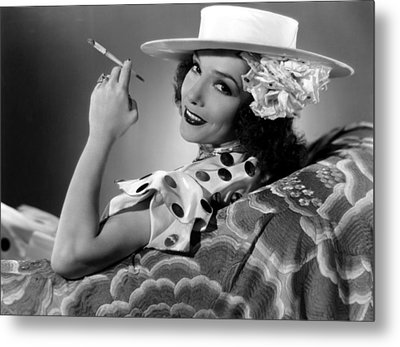 The Girl From Mexico, Lupe Velez, 1939 Metal Print by Everett