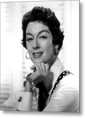 The Girl Rush, Rosalind Russell, 1955 Metal Print by Everett