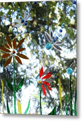 The Glass Garden Metal Print by Pat Purdy