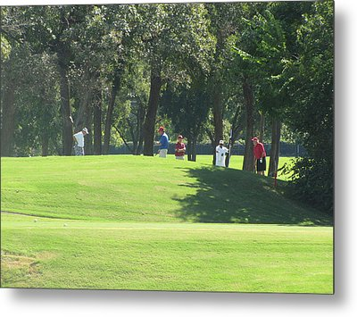 The Golf Course Of Legends Metal Print by Shawn Hughes