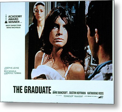 The Graduate, Anne Bancroft, Katharine Metal Print by Everett