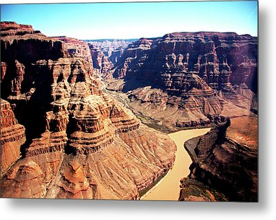 The Grand Canyon Metal Print by Photographed by Victoria Phipps ©