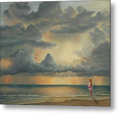 The Heavens Declare His Glory Metal Print by Ruth Gee
