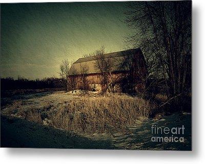 The Hiding Barn Metal Print by Joel Witmeyer