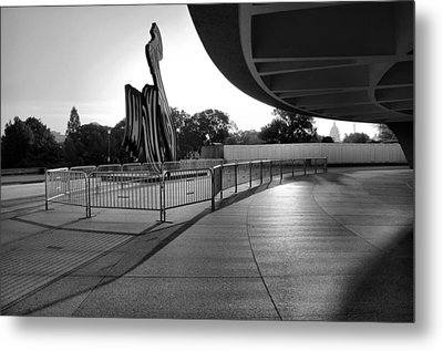 The Hirshhorn Museum II Metal Print by Steven Ainsworth