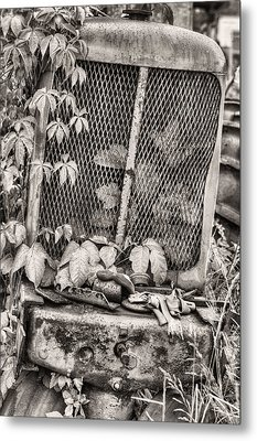 The Ivy League V Bw Metal Print by JC Findley