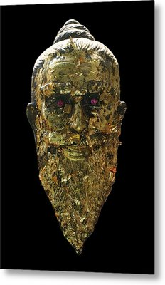 The Jewel Eyed Hermit Metal Print by Gregory Smith
