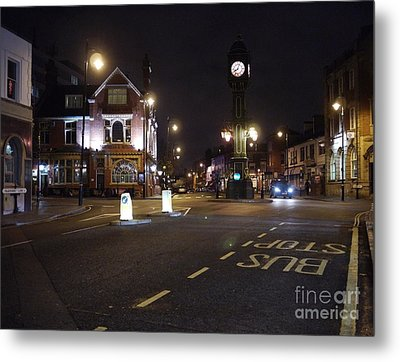 The Jewellery Quarter Metal Print by John Chatterley