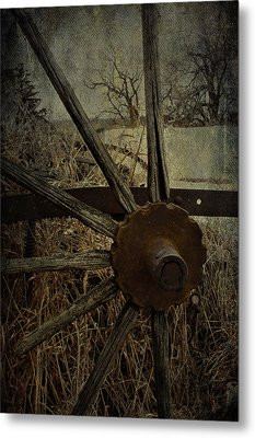 The Land That Turns  Metal Print by JC Photography and Art