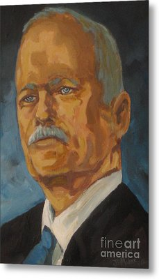 The Late Honorable Jack Layton Metal Print by John Malone