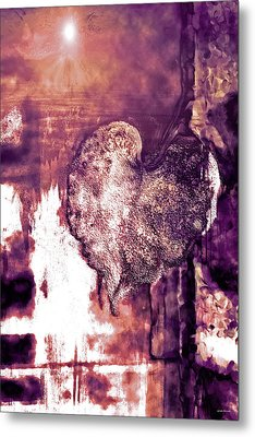 The Light Within Metal Print by Linda Sannuti