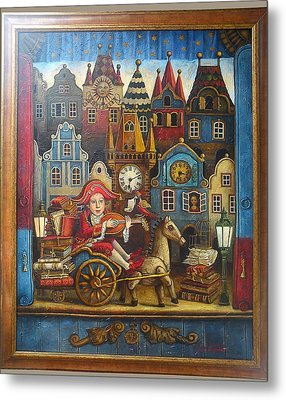 The Little Mozart Metal Print by Victoria Francisco