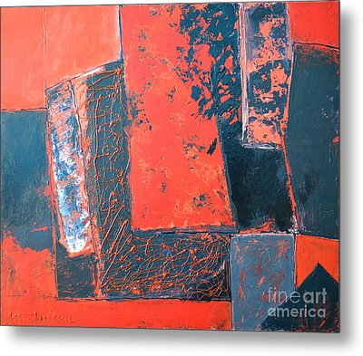 The Ludic Trajectories Of My Existence  Metal Print by Ana Maria Edulescu