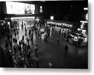The Main Hall Of Grand Central Station Metal Print by Everett