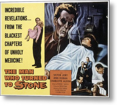 The Man Who Turned To Stone, Victor Metal Print by Everett