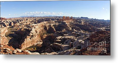The Maze  Overlook Metal Print by Scotts Scapes