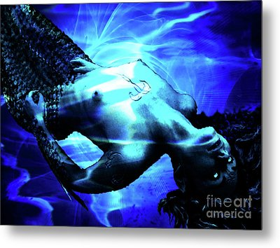 The Mermaid Metal Print by The DigArtisT