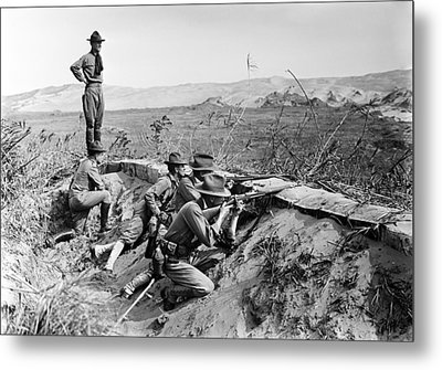 The Mexican Revolution. American Metal Print by Everett