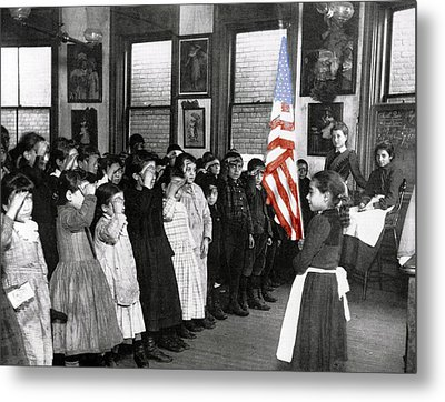 The Morning Parade 1898 Metal Print by Stefan Kuhn