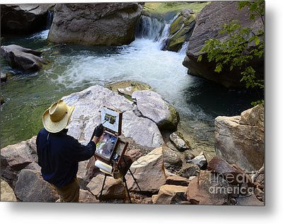 The Narrows Quality Time Metal Print by Bob Christopher