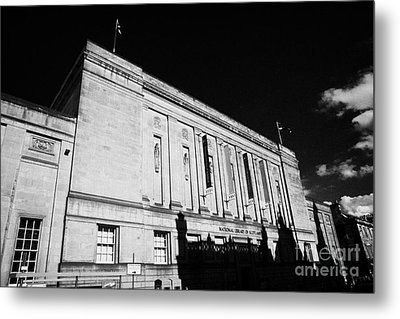 The National Library Of Scotland Edinburgh Scotland Uk United Kingdom Metal Print by Joe Fox