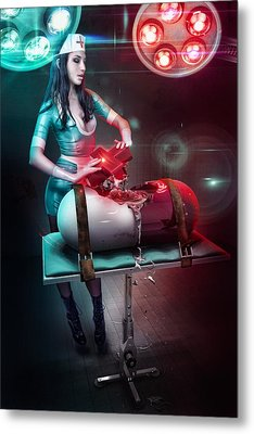 The Nurse Metal Print by Robert Palmer