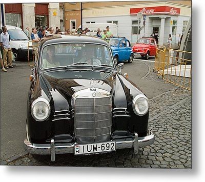 The Old Mercedes Metal Print by Odon Czintos