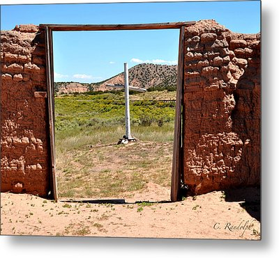 The Old Rugged Cross Metal Print by Cheri Randolph